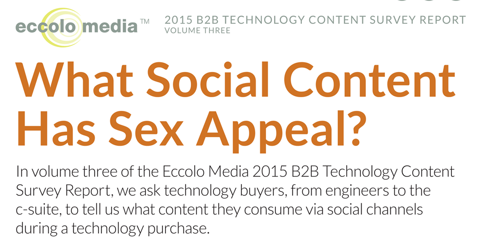 The Effectiveness of Content Types In B2B Social Media Marketing