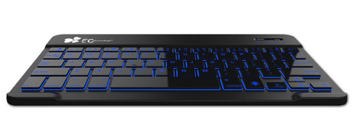 EC Technology Backlit Keyboard review: Multicoloured backlight lets you work in the dark on Android, iPad or Windows tablet
