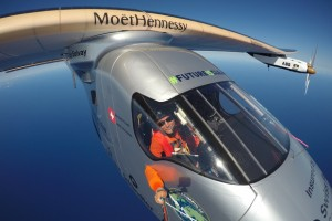 Solar-powered aircraft lands in Silicon Valley