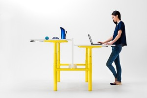 The Orbis Height Adjustable Work Desk
