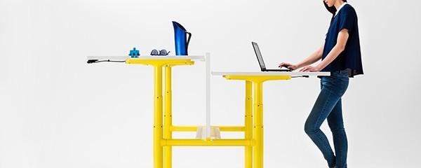 The Orbis Height Adjustable Work Desk