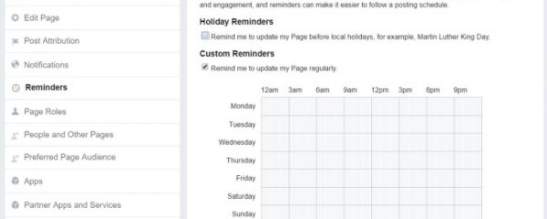 Facebook Testing New 'Reminders' Function for Page Admins