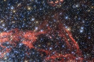 Hubble Views Supernova Remnant SNR