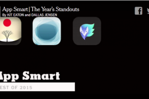 Video Feature: Some Favorite Apps of 2015.